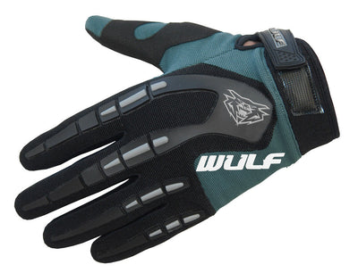 NAVY - WULFSPORT Cub Attack Kids Junior Motorbike Motocross Gloves - MotoX1-Motocross ATV
