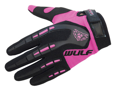 PINK - WULFSPORT Cub Attack Kids Junior Motorbike Motocross Gloves - MotoX1-Motocross ATV
