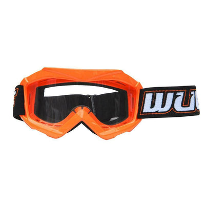 ORANGE - Wulfsport Cub Tech Motocross Goggles Kids Youth MX Off Road Dirt Bike Goggle - MotoX1 Motocross ATV