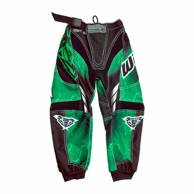 Wulfsports Cub Forte Race Suit Kids Children Motocross Trouser Pants - GREEN - MotoX1-Motocross ATV