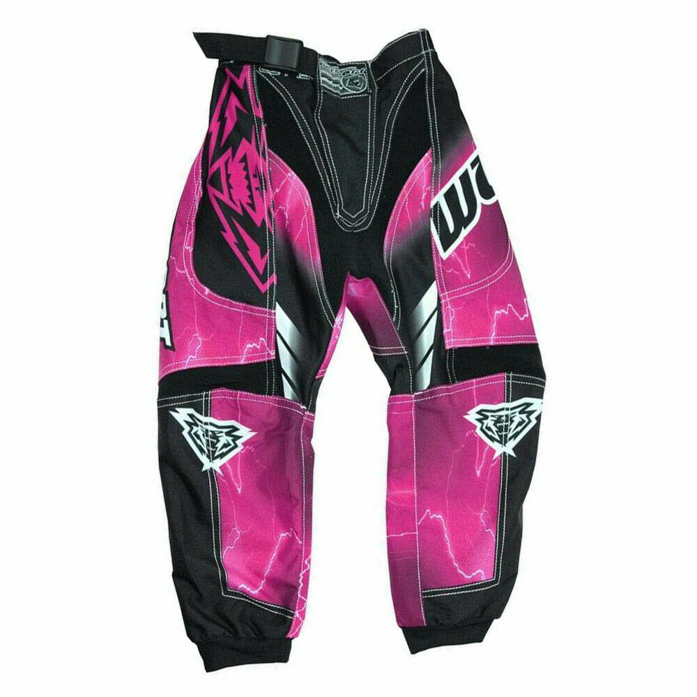 Wulfsports Cub Forte Race Suit Kids Children Motocross Trouser Pants- PINK - MotoX1-Motocross ATV