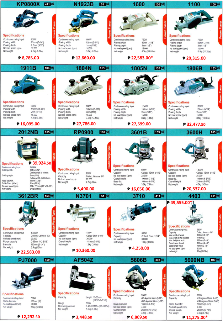 Makita Power Tools Goldapextools
