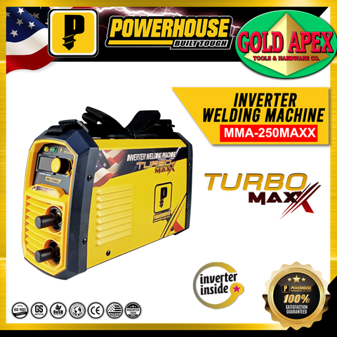 Powerhouse MMA 250A Turbo Maxx DC Inverter Welding Machine