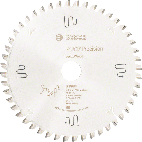 Bosch Circular Saw Blade 216mm x 48T for GCM 18V-216