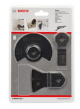 Bosch Starlock Tile Accessory Kit Set for Oscillating Tools (3pcs) 2608662342