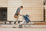 Bosch GTA 60 W Trolley / Wheeled Stand for GTS 10 J Table Saw - goldapextools