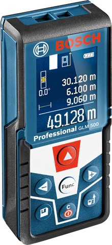 Bosch GLM 500 Laser Distance Measurer (50 Meters) - goldapextools