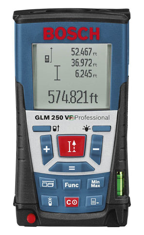 Bosch GLM 250 VF Laser Distance Measurer (250 Meters) - goldapextools