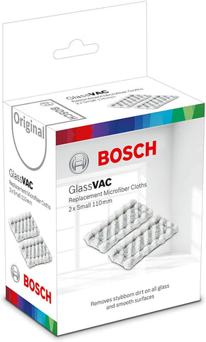 Bosch Small Replacement Microfiber Cloths for GlassVAC
