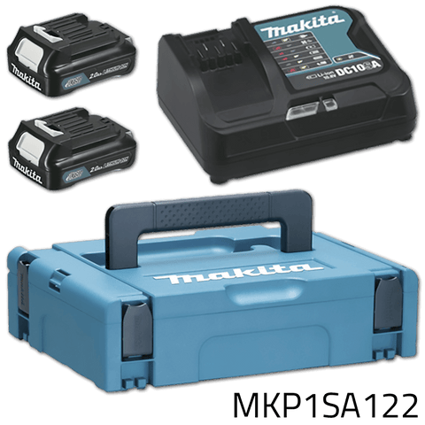 Makita MKP1SA122 12V CXT Power Source Kit