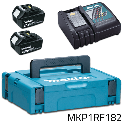 Makita MKP1RF182 18V LXT Power Source Kit (CASE, BATTERY, CHARGER)