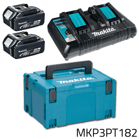 Makita MKP3PT182 18V LXT Power Source Kit (CASE, BATTERY, CHARGER)