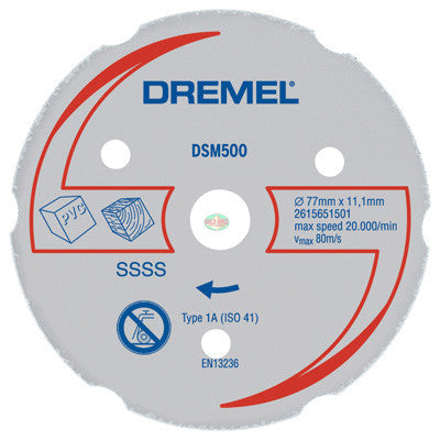 Dremel DSM500 Multi-Purpose Carbide Wheel - goldapextools