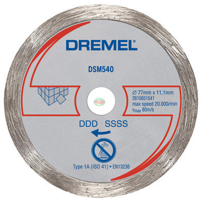 Dremel DSM540 Tile Diamond Wheel - goldapextools