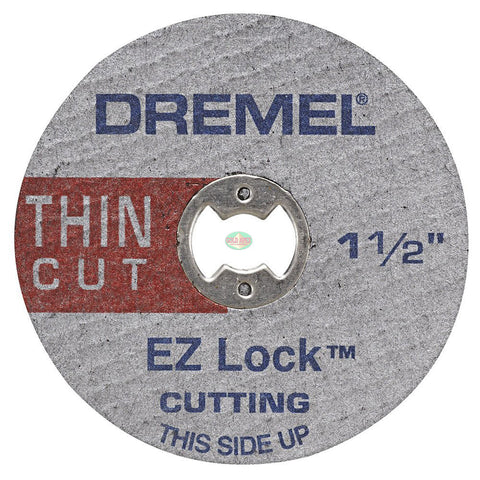 Dremel EZ409 1-1/2-Inch EZ Lock Thin Cut-Off Wheels (5pcs) - goldapextools