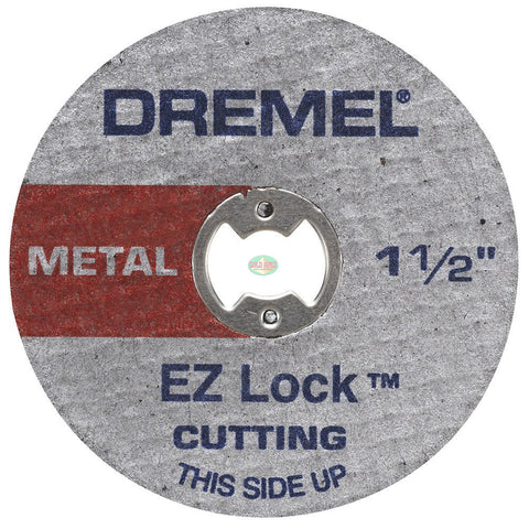 Dremel EZ456 1-1/2-Inch EZ Lock Cut-Off Wheels for Metal (5pcs) - goldapextools