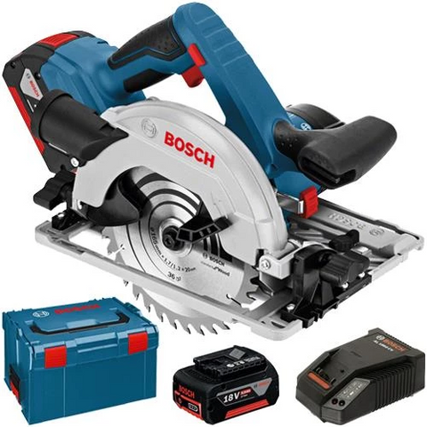 Bosch GKS 18V-57 G Cordless Circular Saw Set