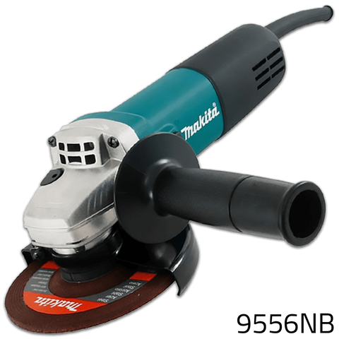 Makita 9556NB Angle Grinder with Free Diamond Disc