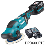 Makita DPO600RTE 18V Cordless Brushless Random Orbit Polisher (LXT Series)