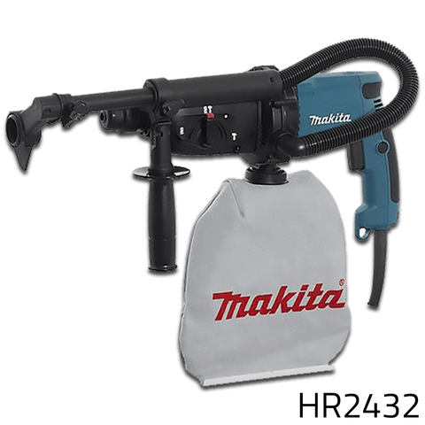 Makita HR2432 SDS-Plus Rotary Hammer With Vacuum