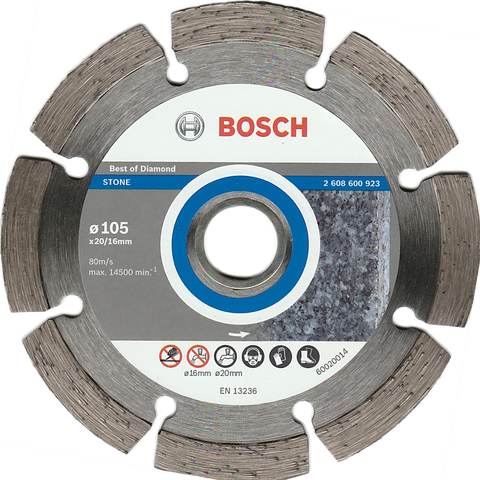 "Bosch Diamond Disc 4"" for Stone - goldapextools"