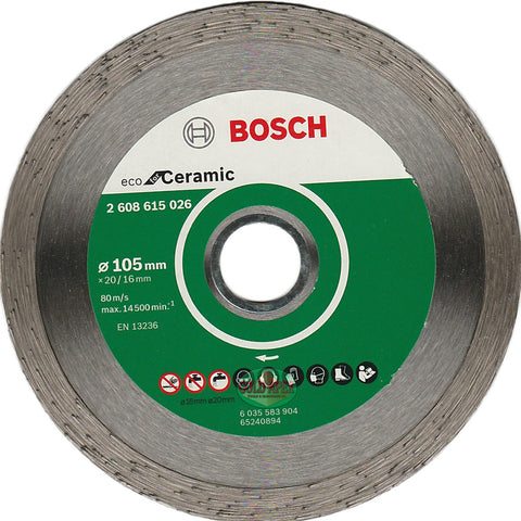 "Bosch Diamond Disc 4"" ECO for Ceramic - goldapextools"