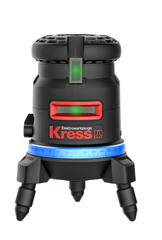 Kress KI100 Self Leveling Line Laser Level (Blue Light)