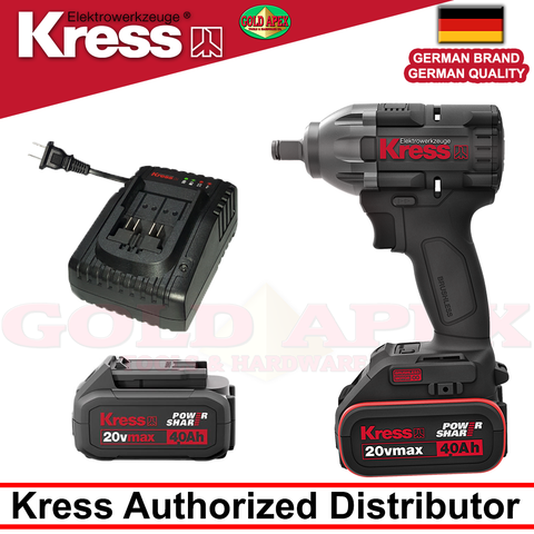 Kress KU270 Brushless Cordless Impact Wrench (20v)