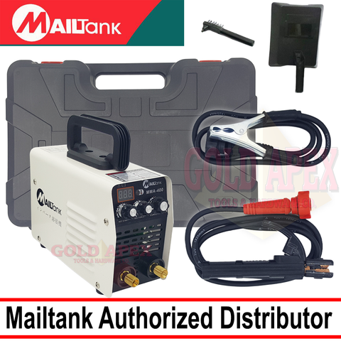 Mailtank MMA-400 DC Inverter Welding Machine with Carrying Case