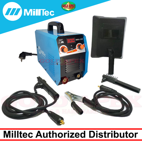 Milltec MMA-300 DC Inverter Welding Machine