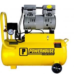 PowerHouse Oil And Noise Less Air Compressor 30 Liters 1HP(1 Motor)(PH-OLESS-30L-1HP)