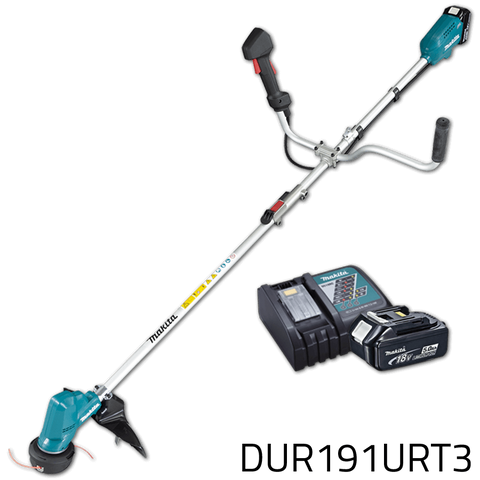 Makita DUR191URT3 18V Cordless Grass Trimmer / Grass Cutter (LXT-Series)