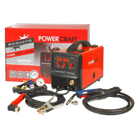 Lincoln K69020-1 Powercraft 180i MIG Inverter Welding Machine - goldapextools