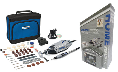 Dremel 3000 3/105 Rotary Tool Home Repair Kit - goldapextools