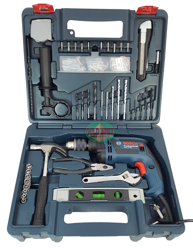 bosch gsb 13 re impact drill w hand tools goldapextools. Black Bedroom Furniture Sets. Home Design Ideas