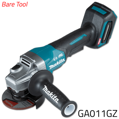 Makita GA011GZ 40V Cordless Brushless Angle Grinder (XGT Series) [Bare Tool]