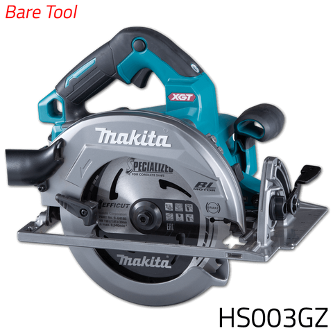 Makita HS003GZ 40V Cordless Brushless Circular Saw (XGT Series) [Bare Tool]