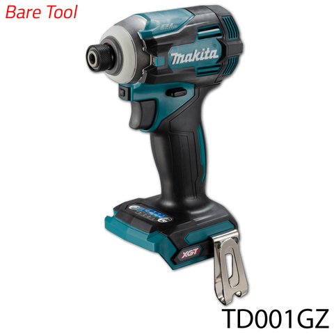 Makita TD001GZ 40V Cordless Brushless Impact Driver (XGT Series) [Bare Tool]