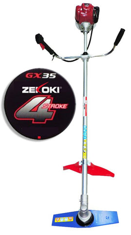 Zekoki ZKK-1000 4-Stroke Grass Cutter / Brush Cutter (GX35) - goldapextools