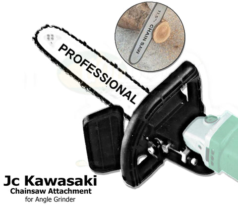 J.C. Kawasaki Chainsaw Attachment for Angle Grinder