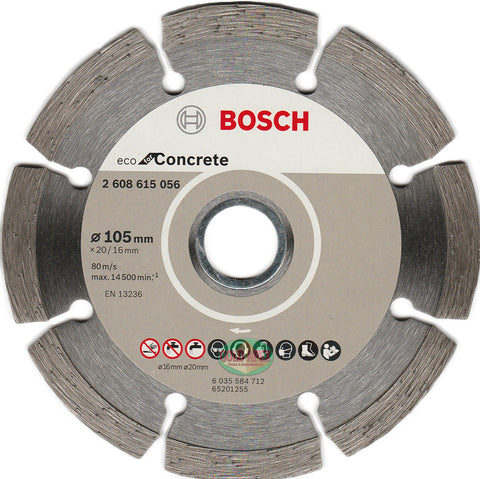 "Bosch Diamond Disc 4"" ECO for Concrete - goldapextools"