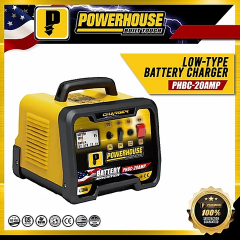 Powerhouse Car Battery Charger