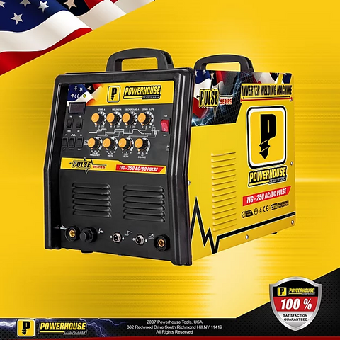 Powerhouse TIG250 PULSE 2in1 (TIG/MMA) AC/DC Inverter Welding Machine
