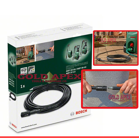 Bosch 6 Meters Extension Hose for AQT Pressure Washers - goldapextools