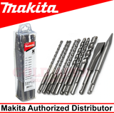 MAKITA D-46361 SDS Plus Drill Bit and Chisel SET (10PCS)