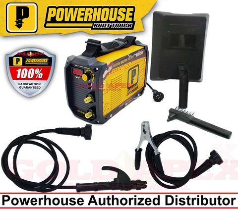 Powerhouse MMA 200A HYPER Series DC Inverter Welding Machine
