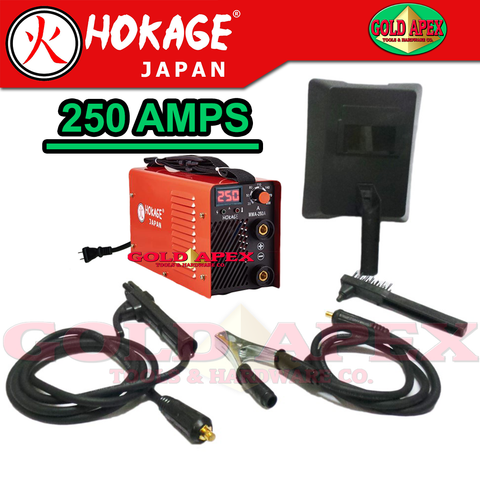 Hokage MMA 250A Inverter Welding Machine - goldapextools