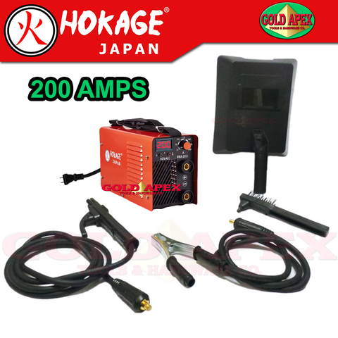 Hokage MMA 200A Inverter Welding Machine - goldapextools