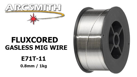 ArcSmith Gasless Self Shielded MIG Welding Wire E71T-11 0.8mm / 1kg - goldapextools