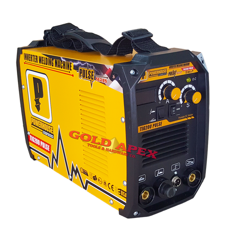 Powerhouse TIG200 PULSE 2in1 (TIG/MMA) DC Inverter Welding Machine